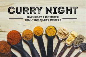 Curry Night Flyer 2017 Front